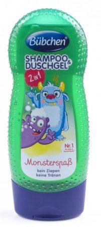 12361371 Bübchen Monster sampon és tusfürdő