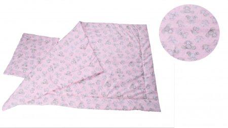 215009M Gyerek 2 részes mintás pamut ágynemű garnitúra
