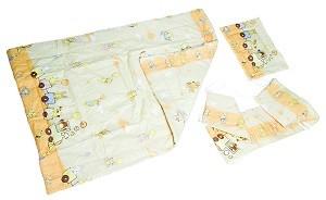 215019 Gyermek pamut ágynemű garnitúra 3 részes