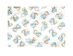 311197 BabyBruin nyomott mintás textil pelenka, 2db