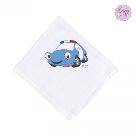 311201 BabyBruin nagy mintás textil pelenka, 2db