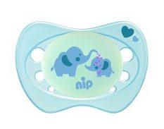 31308 NIP Újszülött szilikon világító játszócumi 0-2 hónapos korig