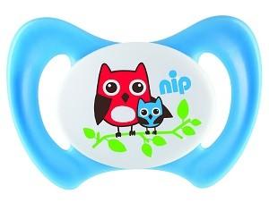 31801 NIP Miss Denti speciális szilikon cumi elülső fogakkal rendelkező babáknak 1db-os