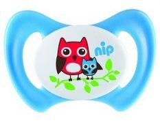 31802 NIP Miss Denti speciális szilikon cumi fogcsoportokkal rendelkező babáknak 1db-os