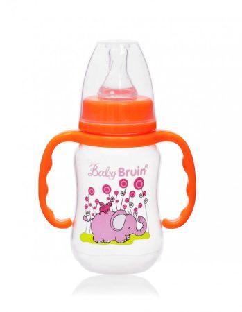 55042882 Baby Bruin polipropilén fogantyús cumisüveg, 125ml