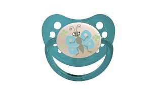 55043020 Baby Bruin ortondontikus szilikon játszócumi 1-es méret Pillangó