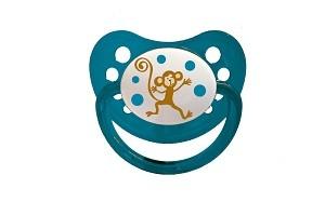55043025 Baby Bruin cseresznye alakú szilikon játszócumi Majom