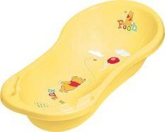 55043353 Disney 84 cm kád leeresztő dugóval sárga