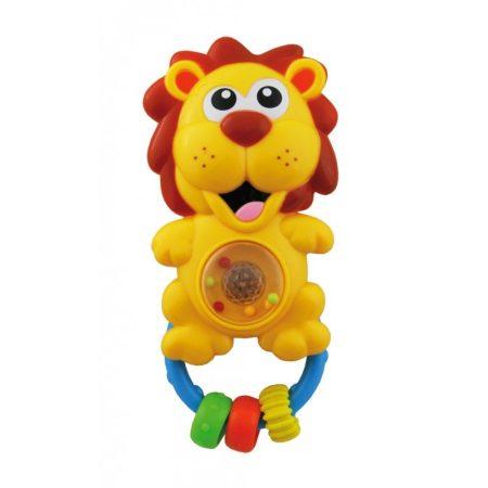 55043684 Zenélő,villogó oroszlán csötgő