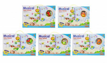 55044109 Forgó zenélő Világítós műanyag