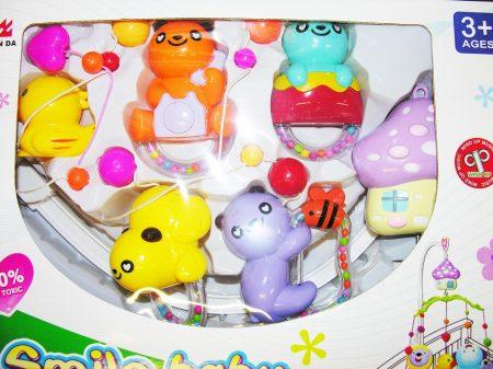 55044119 Koala macis műanyag forgó zenélő