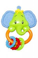 55044141 Elefánt csörgő rágókás füllel