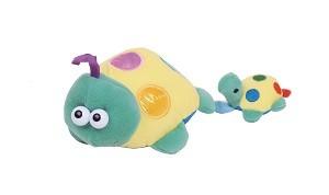 TK 3615 Plüss felhúzható zenélő teknős gyermekével